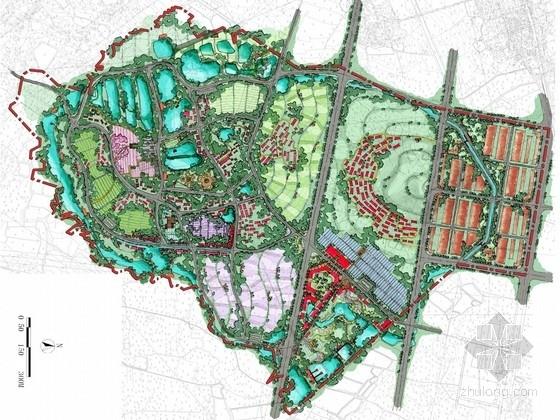 [湖北]乡村休闲游示范村景观规划设计方案