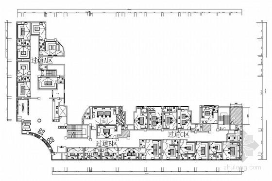[湖南]量贩式KTV主题娱乐场所室内施工图(含效果图)