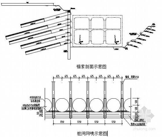 [云南]地铁车站深基坑预应力锚索支护施工方案
