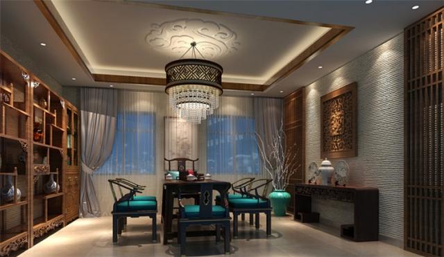 风格设计装修效果图茶楼-四川1769装饰-室内设计博文外国陶瓷设计图图片