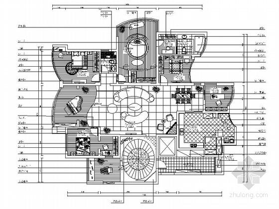[无锡]滨湖新城现代五居室装修图(含效果)