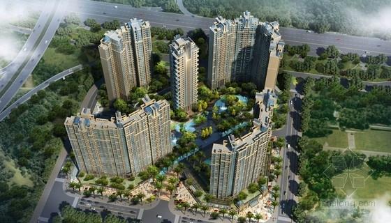 [深圳]新加坡花园式高尚住区设计方案文本