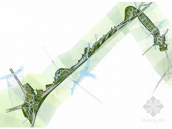 [苏州]现代高速公路入口景观规划设计方案