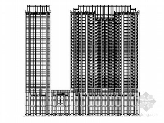 高层城市综合体建筑方案设计图