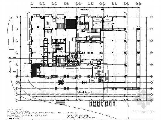 [浙江]全球国际化金融中心高档现代风格综合性酒店装修施工图(含效果)