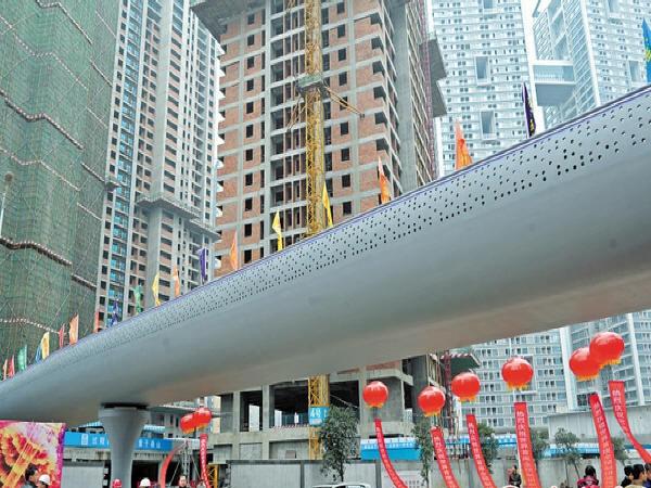 全球首座活性粉末混凝土全预制拼装连续箱桥通过验收
