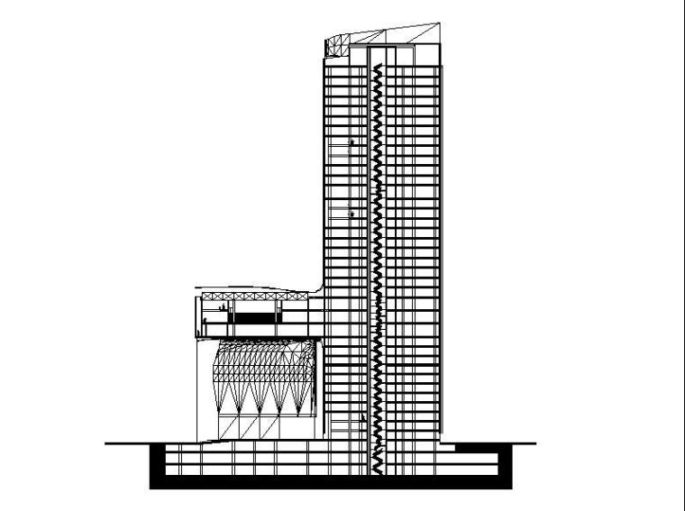 [江苏]超高层多功能办公商业综合体建筑施工图