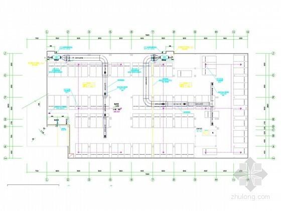 [江苏]多层教育建筑暖通系统设计施工图