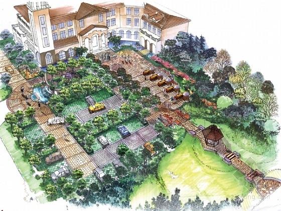 [河南]西式田园风格别墅级生活社区设计方案