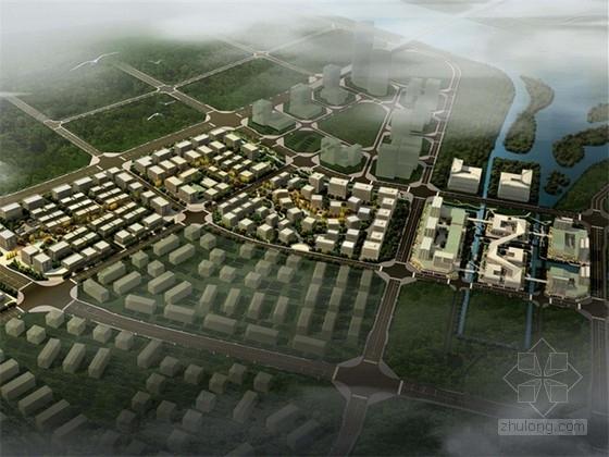 [四川]现代风格企业厂区总部港规划设计方案文本