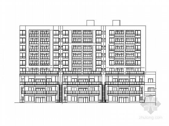 [贵州]现代山地多层洋房建筑施工图