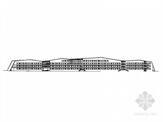 [辽宁]4层现代风格市级重点小学教学楼设计施工图(知名设计院)