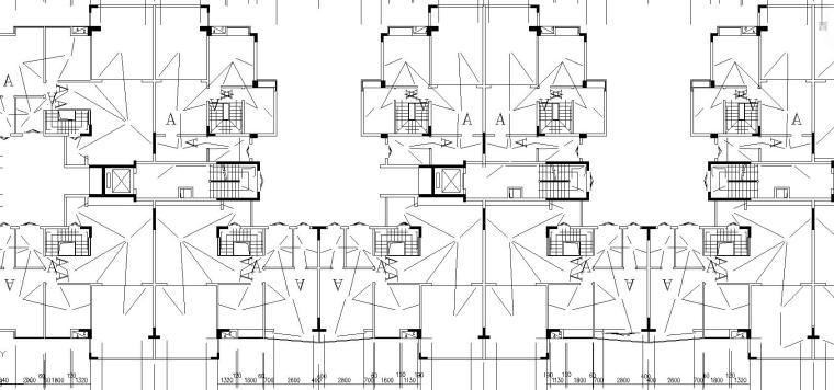 某住宅小区C栋电气施工图