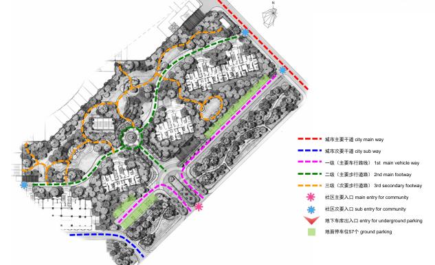 [长春]城市贸易中心公园景观住宅景观规划设计方案_7