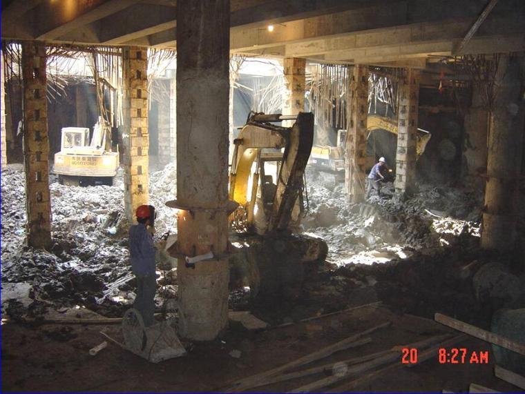 [苏州]商业中心地下工程逆作法施工组织设计(附图丰富)