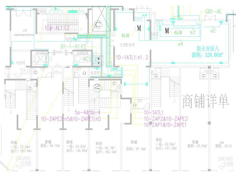 [湖南]某高层住宅地下室全套电气施工图