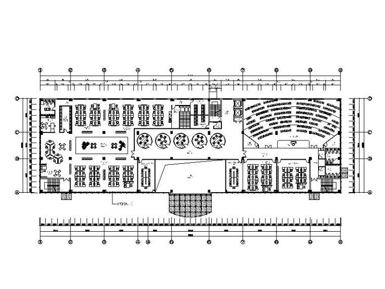 [东莞]最新力作!简约大气办公楼设计施工图(含高清效果图)