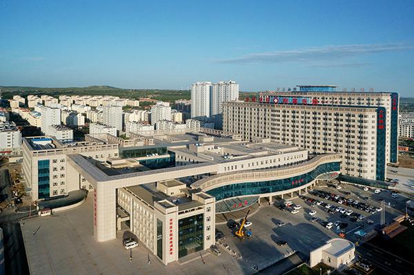兆凯布线万点医疗-内蒙古赤峰学院附属医院新建智能化工程建设
