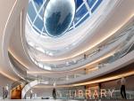图书馆中庭3D模型下载