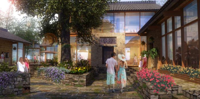 [广西]桂林风情古镇老街乡村景观设计方案(赠项目lumion动画)-效果图20