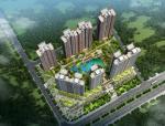 [广东]高层简洁明快风格一梯两户式住宅建筑设计方案文本