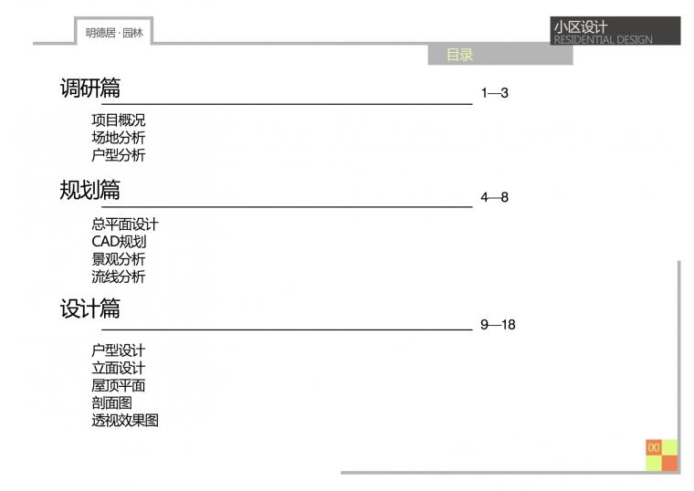 小区规划设计_2