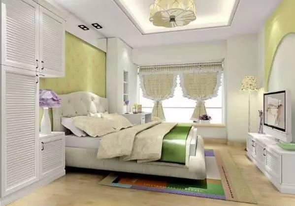 欧式田园卧室装修效果图大全