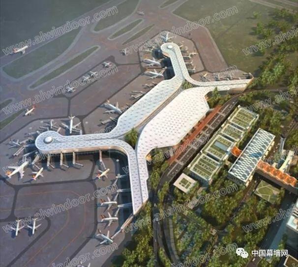 沿海大型机场航站楼建筑幕墙设计案例分析