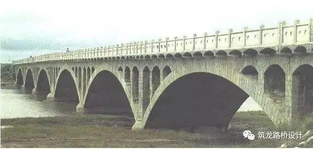 或许这是最全的空腹式石拱桥施工设计图纸,值得收藏