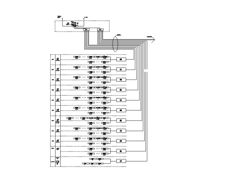 34万平商业办公楼强弱电电气施工图(电缆|变配电所负荷|防雷计算)-检测系统