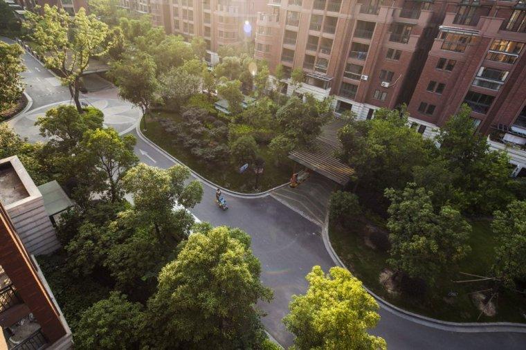 上海美兰湖铂镜住宅景观_5