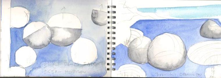 斯蒂文·霍尔在中国的首个作品展,向我们摊开了他个人的手绘本_4