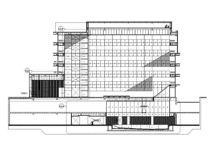 [北京]隈研吾TheHouseCollectivel瑜舍酒店设计施工图(CAD)