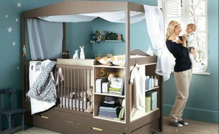 美式风格母婴月子会所软装设计-中骏设计_4