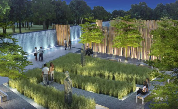 """[广东]""""一河三带""""滨水生态河道特色湿地公园景观规划设计方案"""