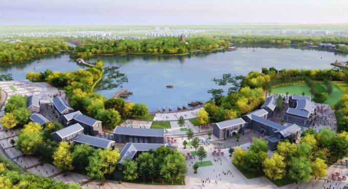 [江苏]城市复合体验式生态湿地公园景观设计方案