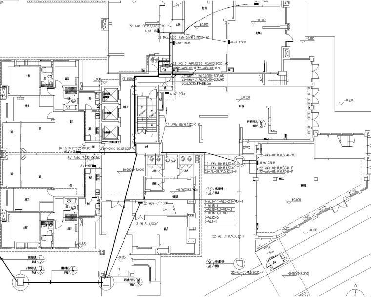 悠山郡施工图(含强电与弱电,节能备案,计算书)_4