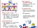 高质量安全生产围墙安全通道安全宣传漫画,拿来就能用!