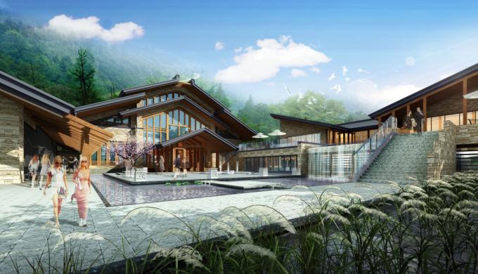 [湖南]湘粤文化生态森林旅游度假区景观设计方案(9个规划文本)