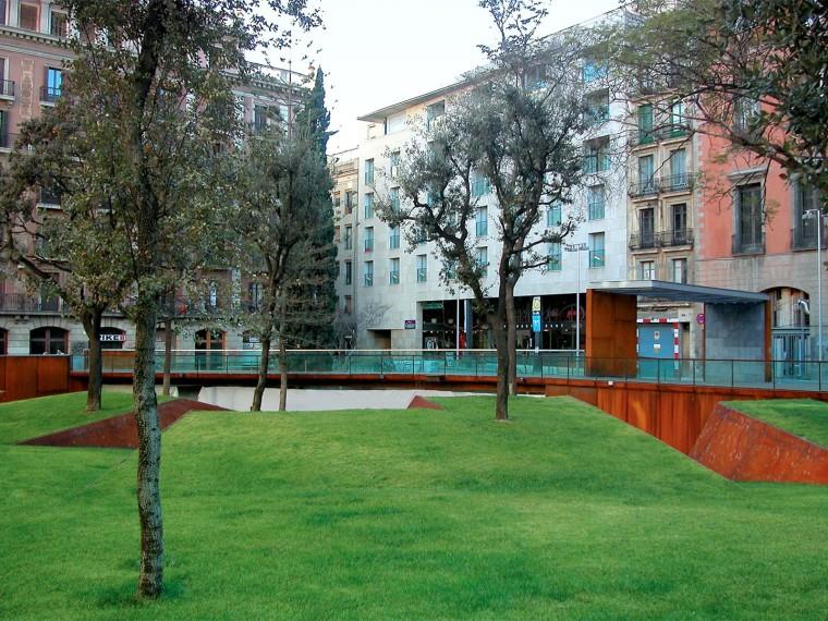 西班牙公共城市花园
