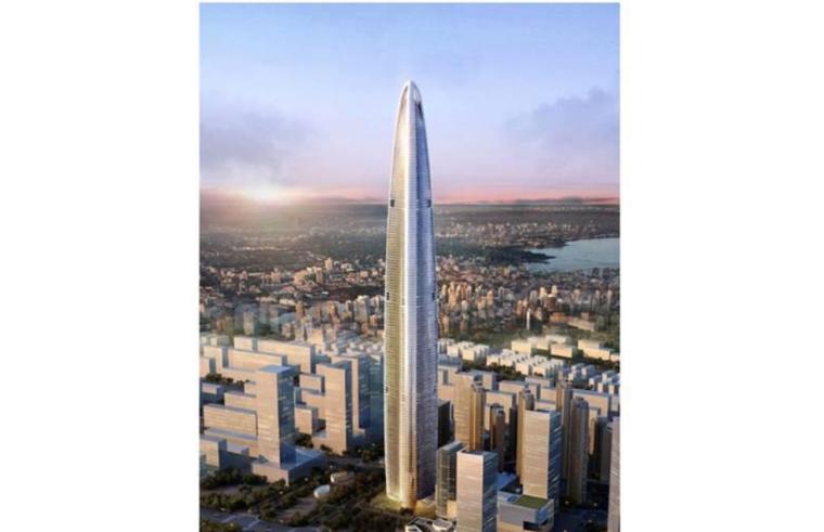 [武汉绿地中心项目]主塔楼地上钢板剪力墙安装方案