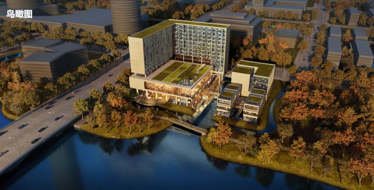 [浙江]宁波东部新城核心区地块酒店建筑方案设计文本