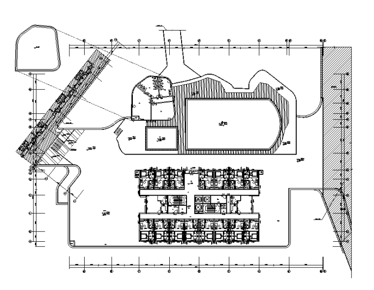 东莞商业广场商业办公楼强弱电电气施工图(含地下室设计)