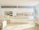 简约厨房3D模型下载