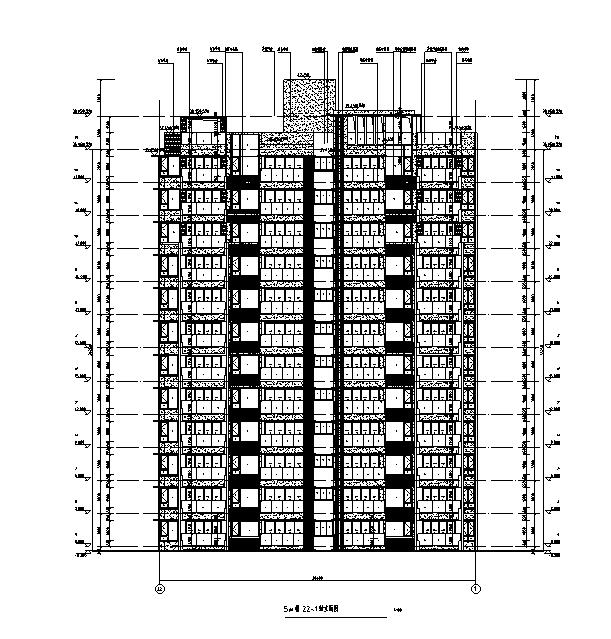 [海南]高层全专业审图后住宅建筑施工图(含全专业及车库)_1
