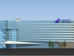 9层现代风格海上办公基地建筑方案文本