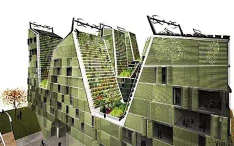 26款垂直绿化设计,是建筑更是景观!