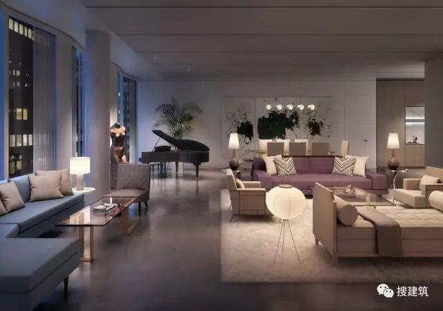 """万科200米高、61层的""""新地标住宅"""",1000-1600平方英尺的户型设_27"""
