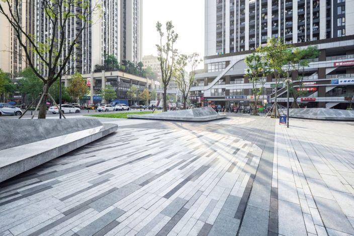 重庆龙湖U城天街景观-7