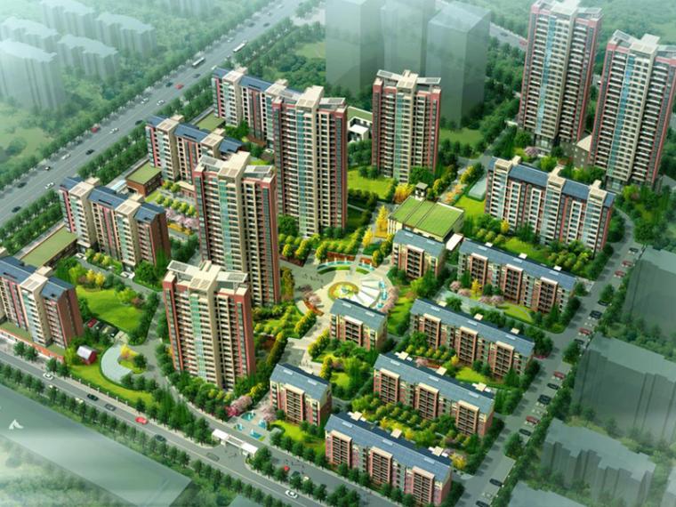 [山西]孝义市高层现代居住区规划方案文本